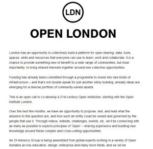 13 05 25 Open London