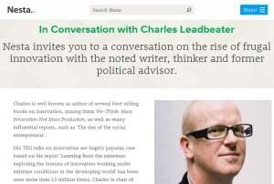 14 07 01 Charles Leadbeater