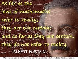 16 08 23 Einstein maths reality